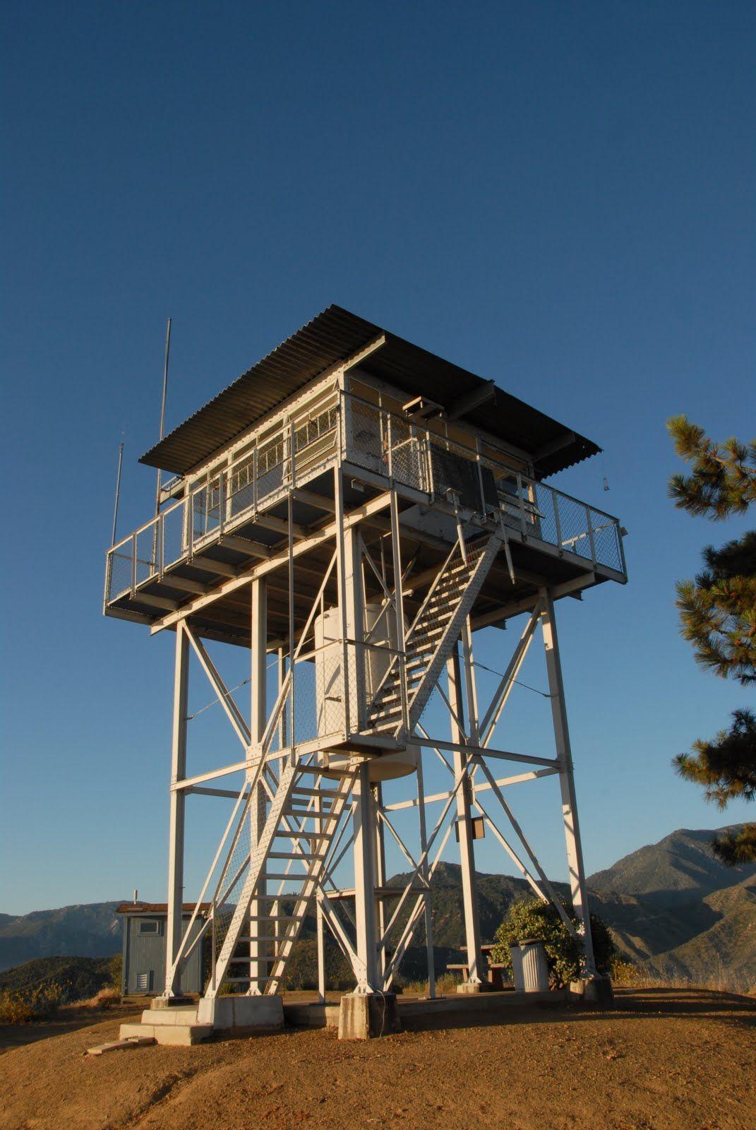 Metal Fire Tower In Acadia Natu0027l Park