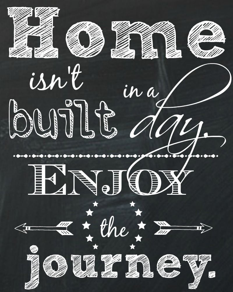 Quotes On Home Celebrating My One Year Blogiversary With Free Printables Quotes
