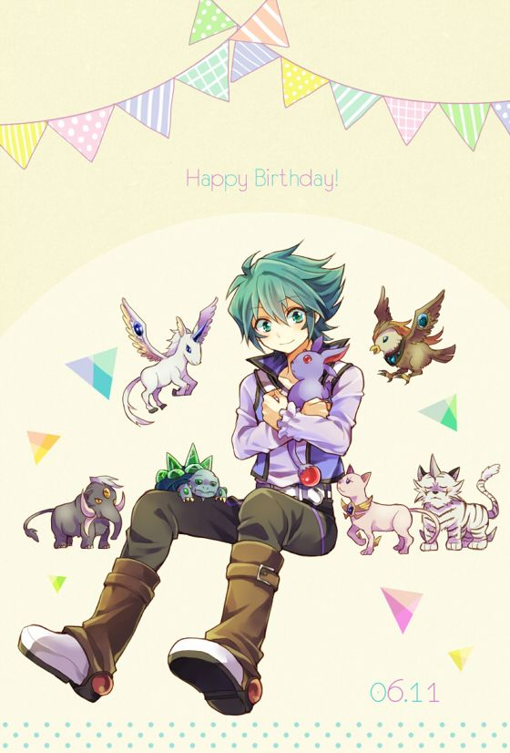 Jesse Happy Birthday Yu Gi Oh Original Gx 5ds Pinterest