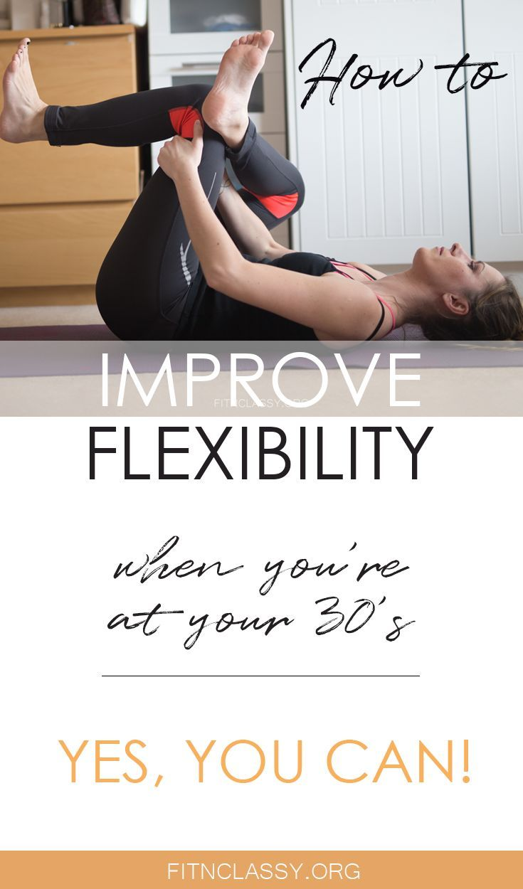 Wondering if you can improve your flexibility when you feel you're not flexible at all, or you've ha...
