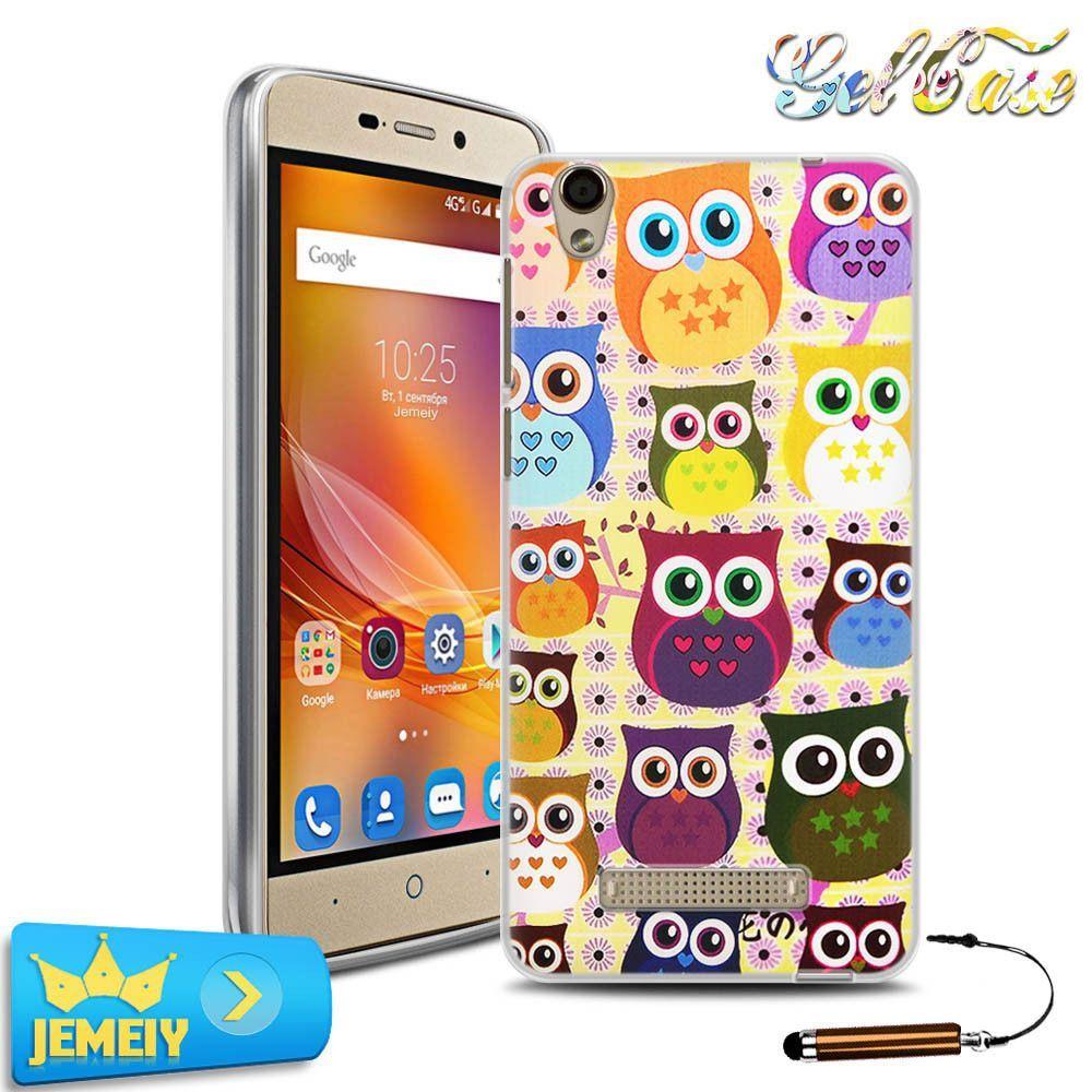 UV Print Soft TPU Gel Case For ZTE Blade X3 X 5 X7 X9 GF3 phone case For ZTE Blade AF3 A610 A510 V7 LITE Tempered glass