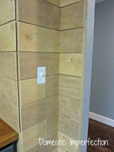 How To Make A Plank Wall Plank Walls Ship Lap Walls