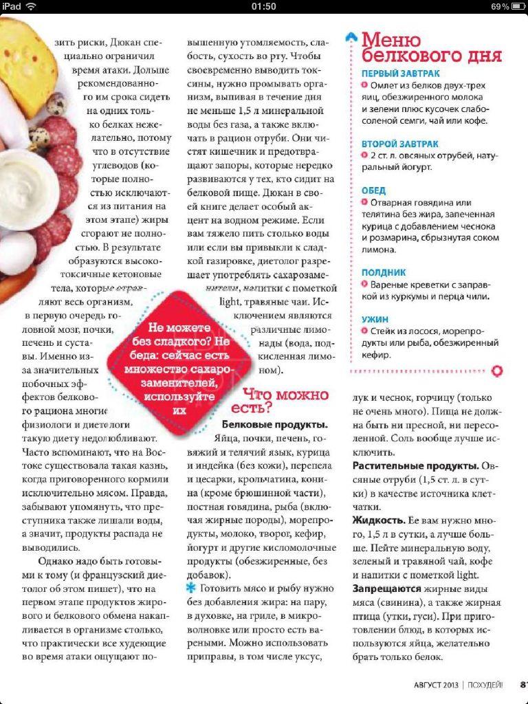 Французский диетолог дюкан и его диета