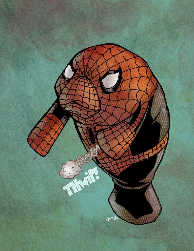 Spider-Manatee by ~jharris