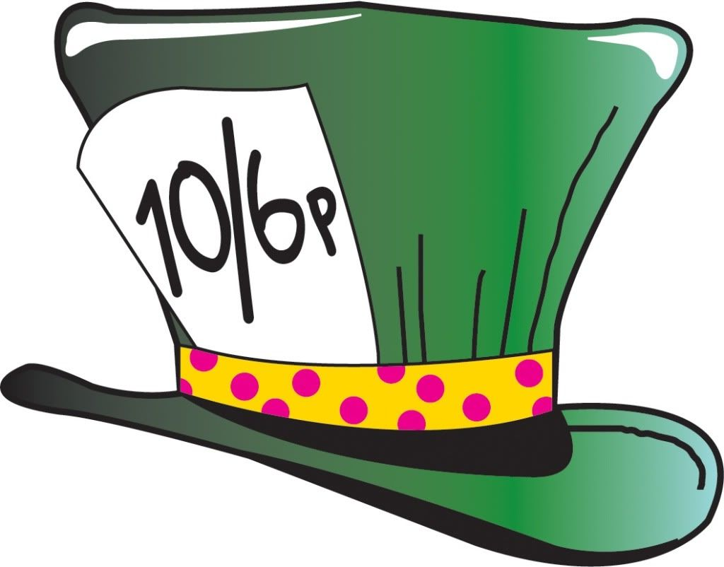 mad hatter hat clipart clipartfox praxis pinterest rh pinterest co uk mad hatter tea cups clip art mad hatter clip art for baby