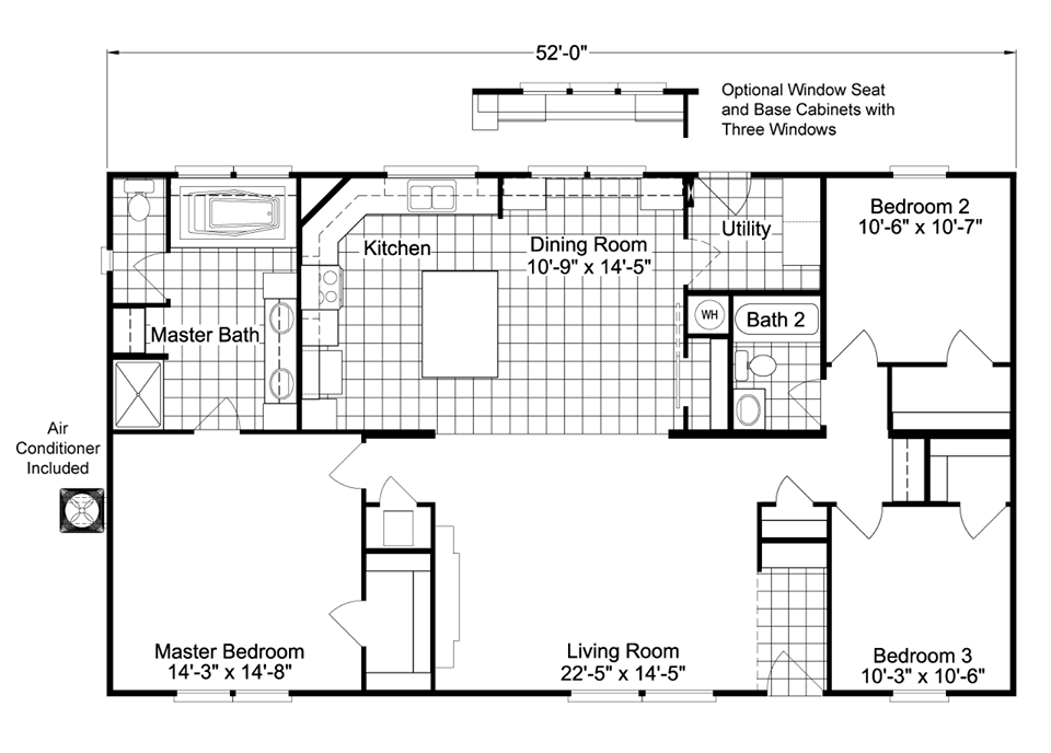 Featured Manufactured Home: The Arlington by Palm Harbor | Plan ...