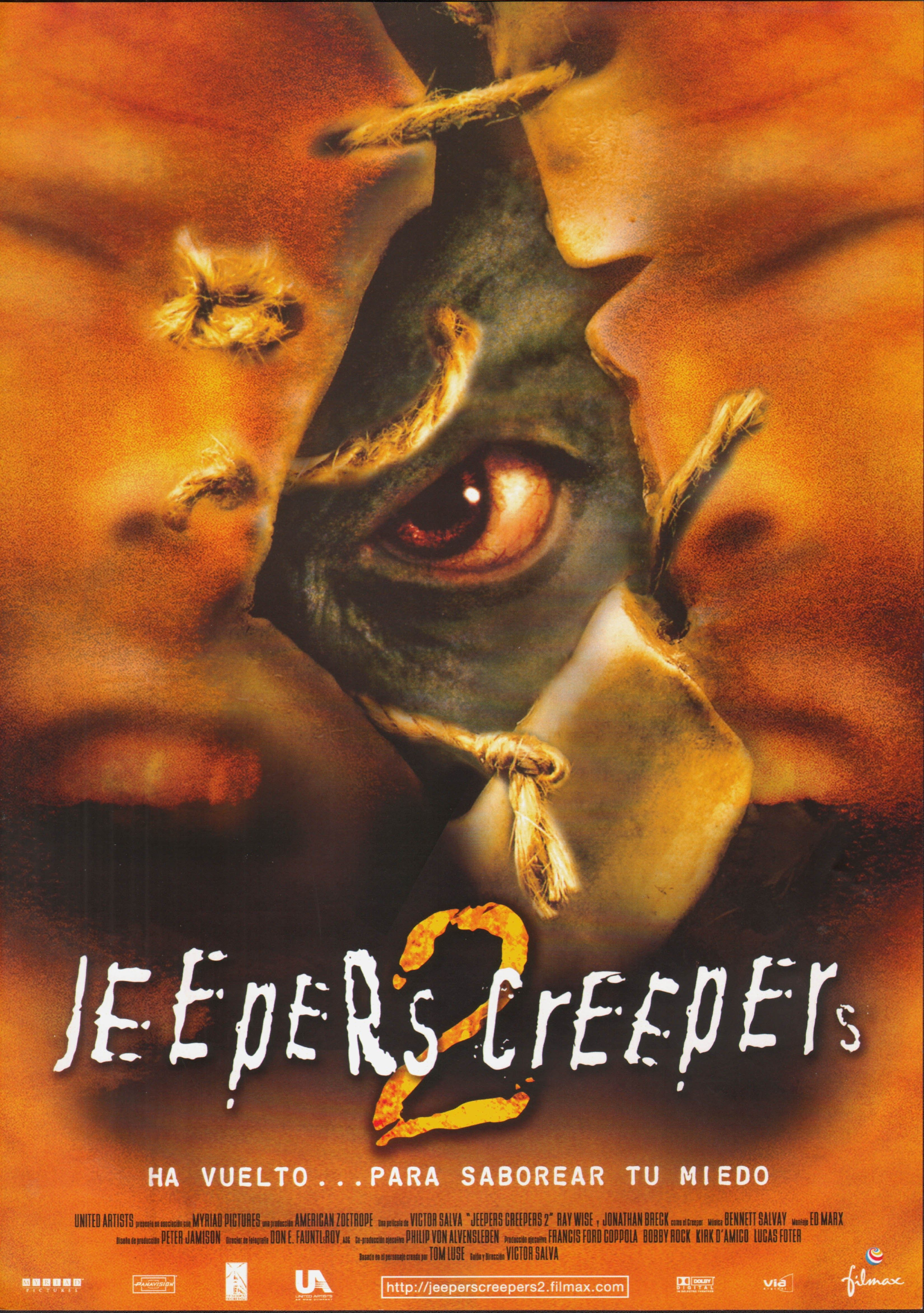 Jeepers Creepers 2 Jeepers Creepers Peliculas De Terror The