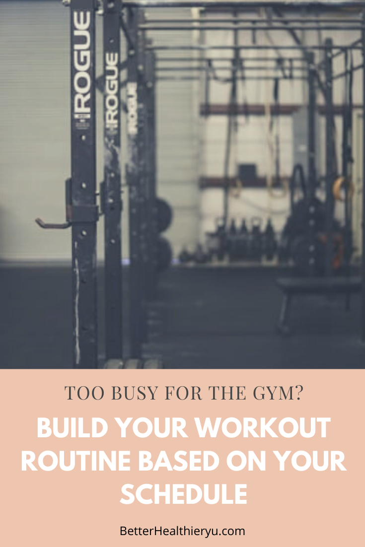 Is your weekly schedule jam packed that you can't get into the gym? Well, lucky for you I got 4 work...