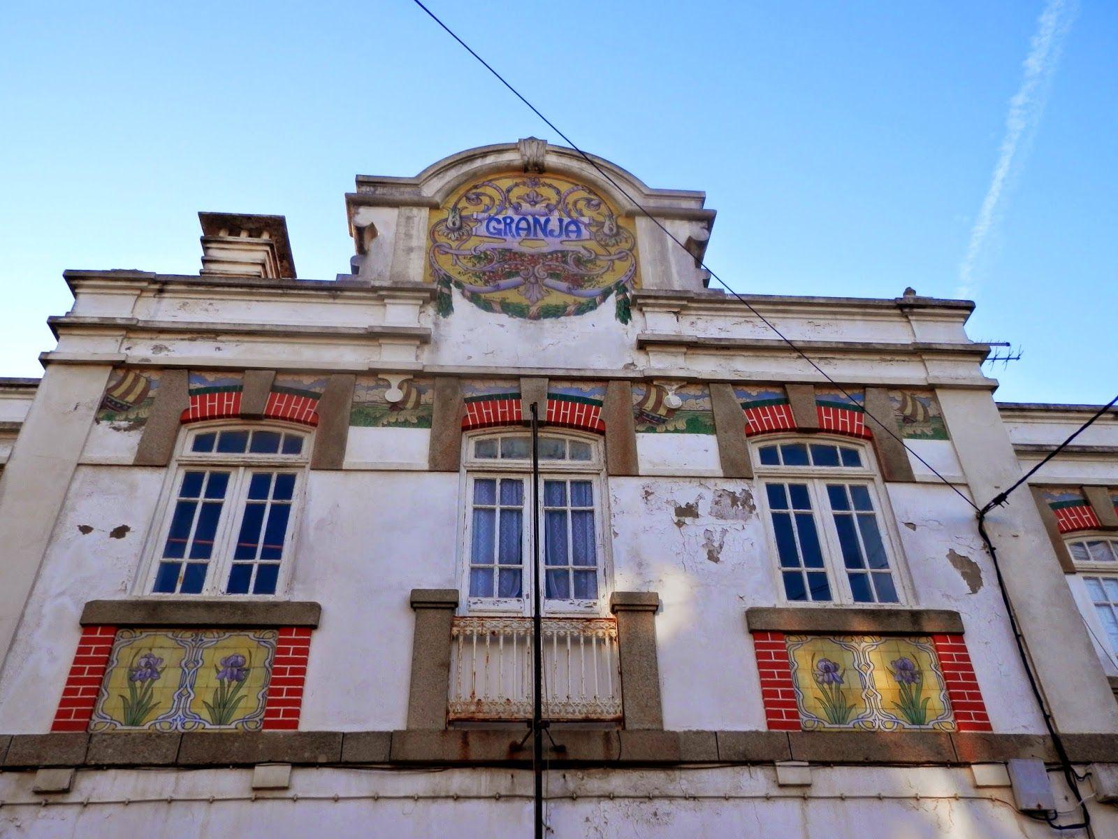 Licínio Pinto e Francisco Pereira | Estação Ferroviária de / Railway Station of Granja | 1914 #Azulejo #LicínioPinto #FranciscoPereira