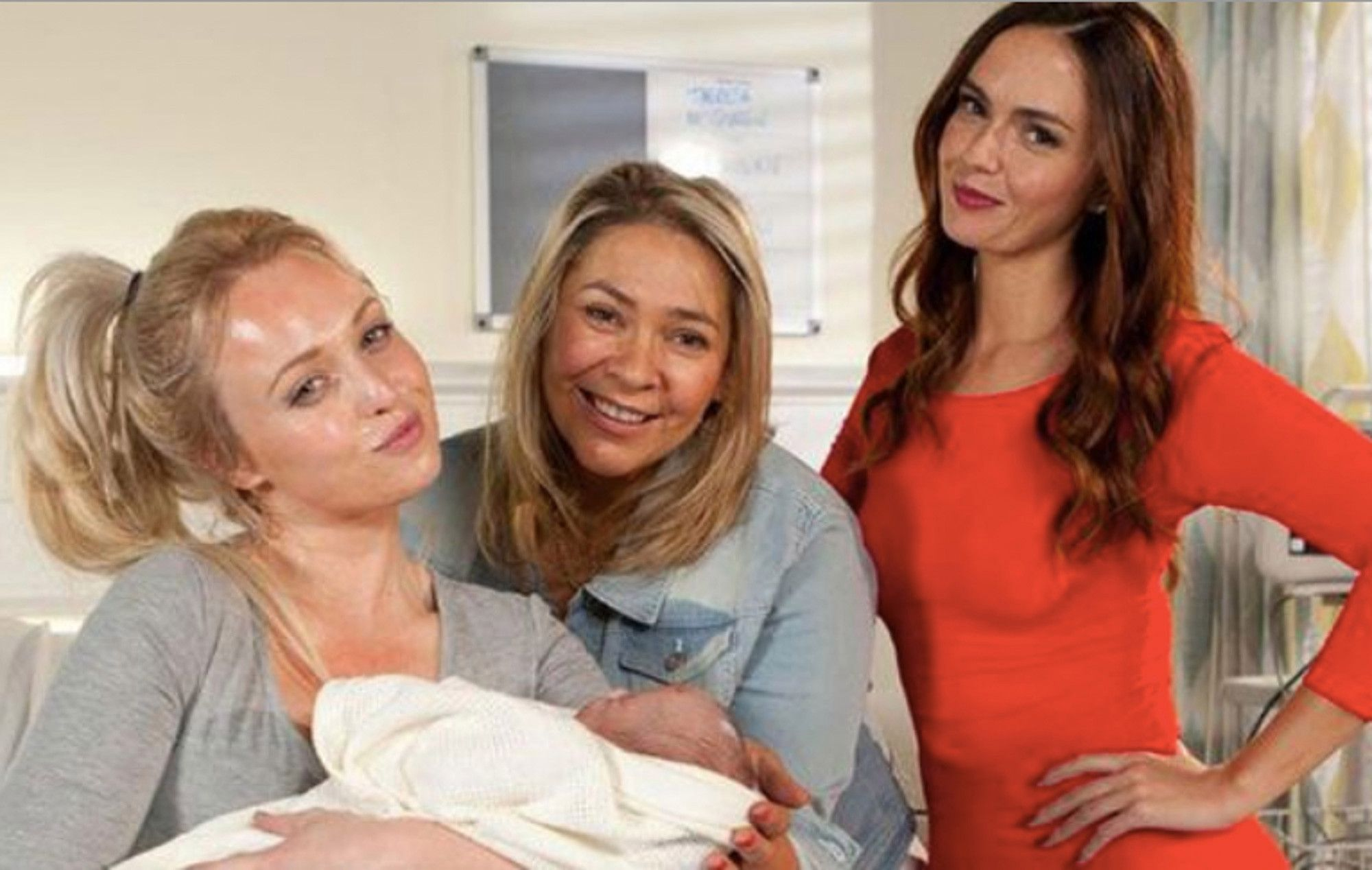 Hollyoaks fans think theresa mcqueens daughter will get