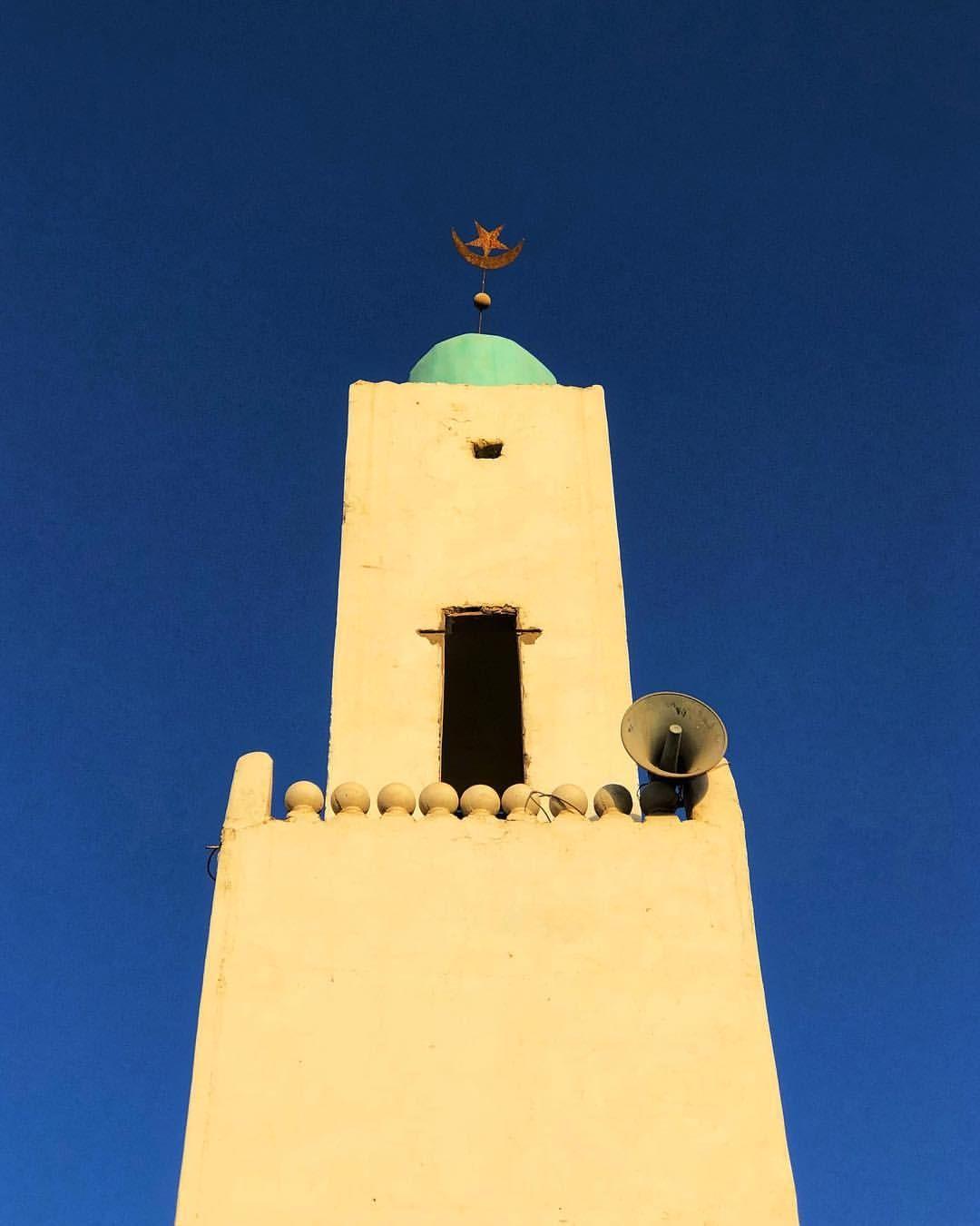 Nouakchott Mauritania Minaret At Sunset Mauritania Nouakchott Mosque Minaret Islamicarchitecture Sunset Nouakchott Mauritania Islamic Architecture