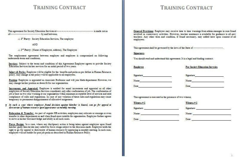 Doc 575709 Sample Agreement Letter Letter Of Agreement Form