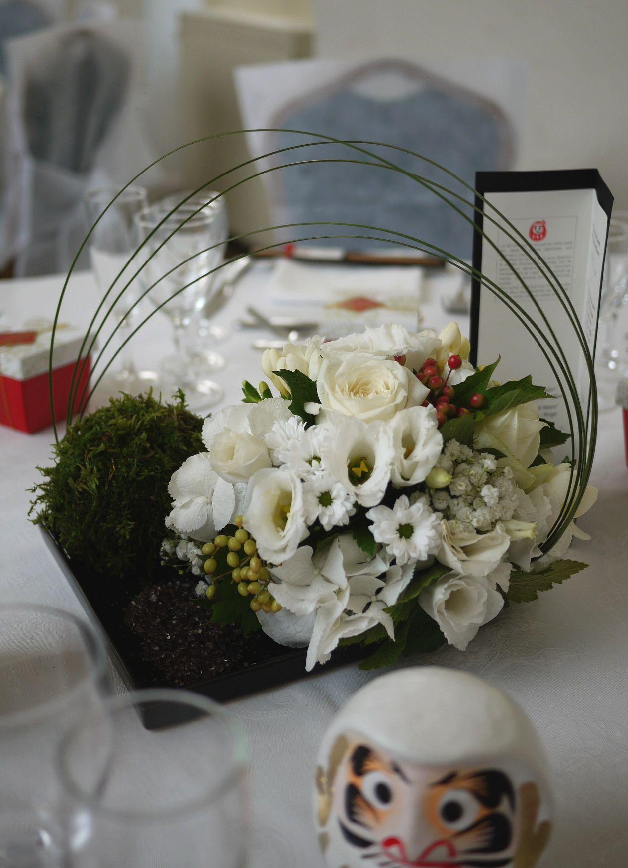 n°230 mariage au château de centre de table / mariage / wafuka