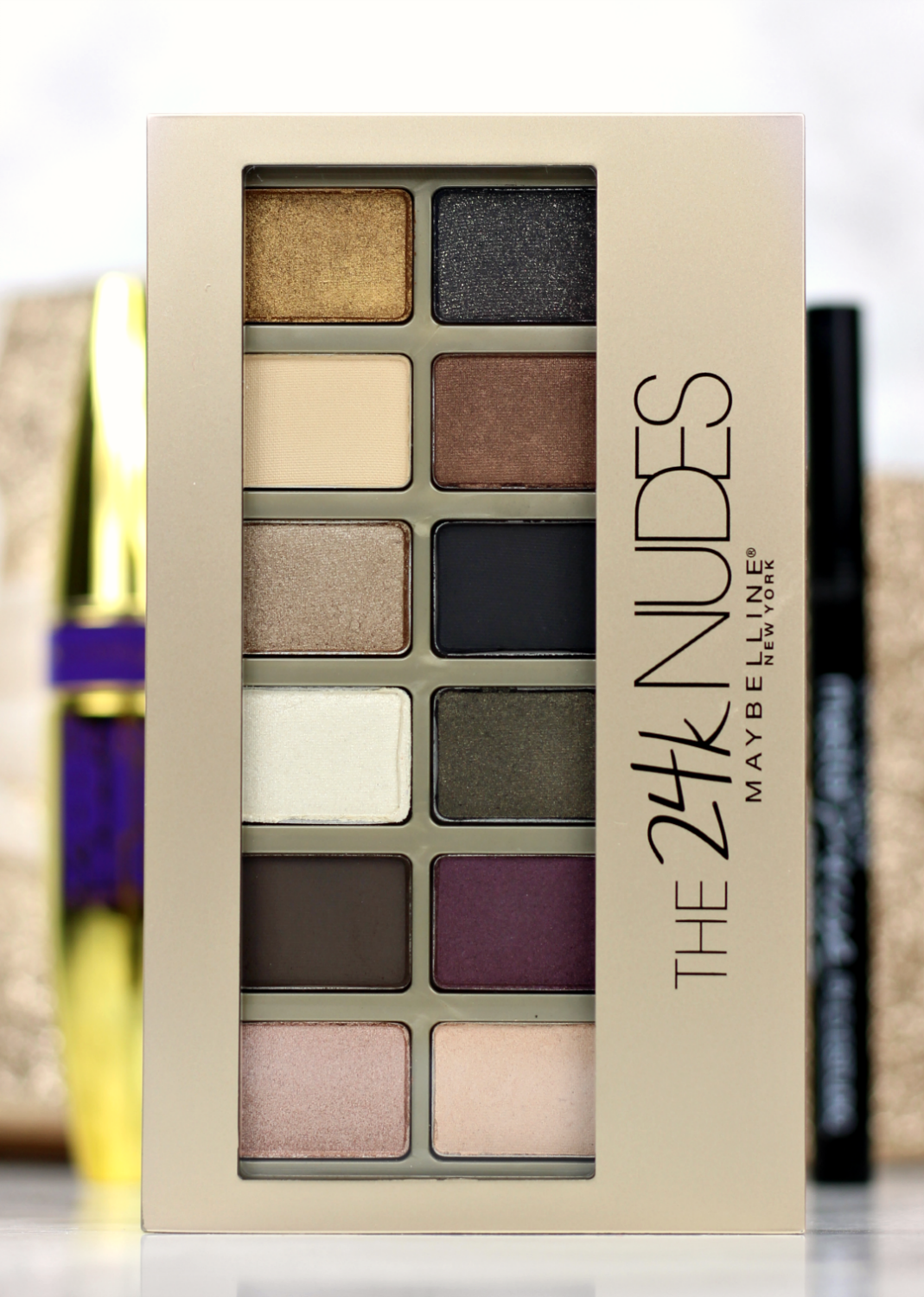 New Maybelline The 24k Nudes Palette Hair And Beauty Pinterest