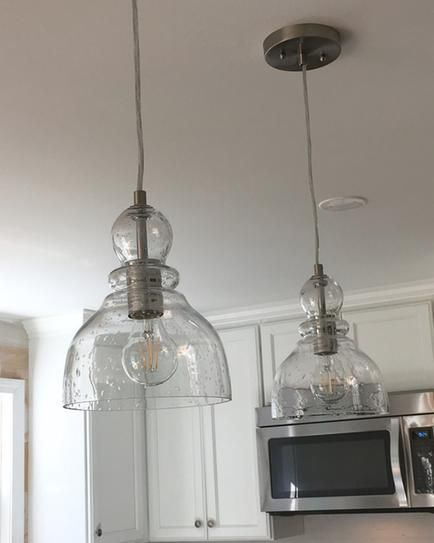 Westinghouse 1 Light Brushed Nickel Adjustable Mini Pendant With
