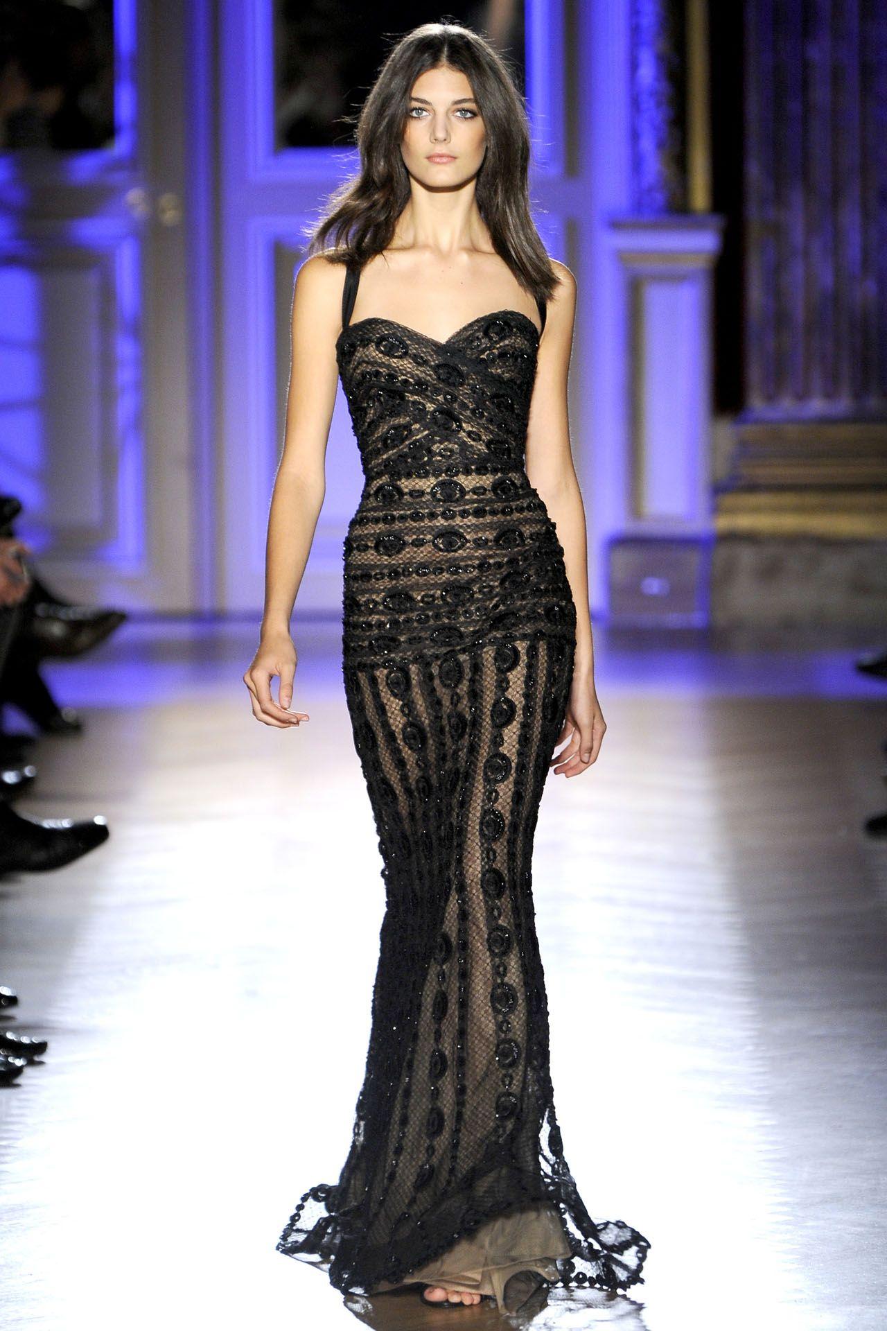 Bodice black tiemeday pinterest zuhair murad haute