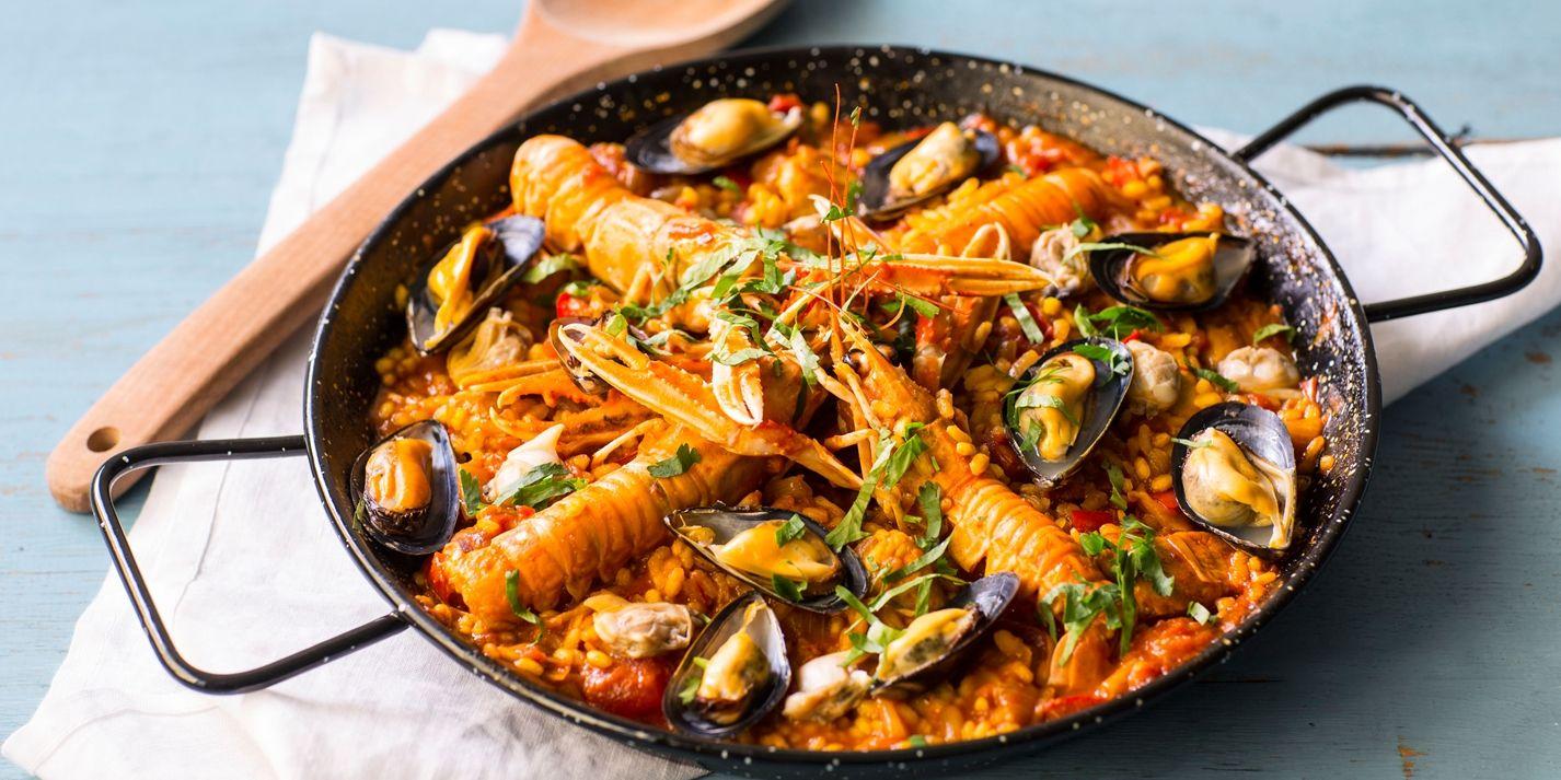 Paella recipe great british chefs spanish tapas and paella paella recipe great british chefs forumfinder Image collections