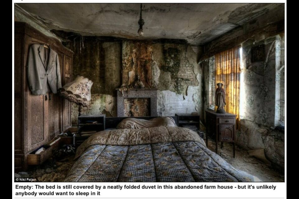 Abandoned Bedroom | Haunted House Stuff | Pinterest