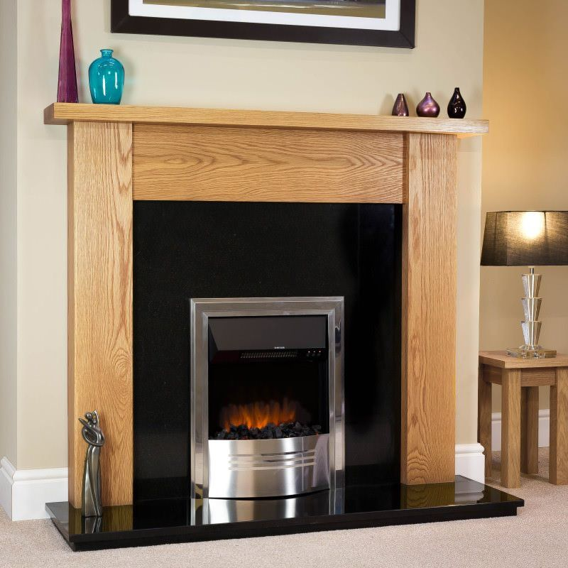 This Is Your Chance To Win This Full Fireplace Package Pictured