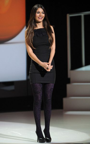 Remarkable, rather Victoria justice tights opinion