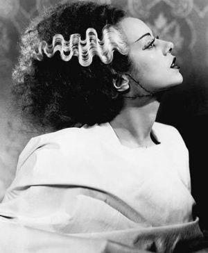 Skunk Stripe - TV Tropes | Bride of frankenstein, Frankenstein wife,  Frankenstein