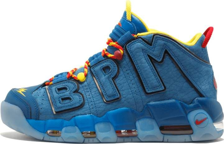 50c2f0fd3a40 Nike Air More Uptempo  96 DB Blue Jay Gym Red  Doernbecher 2017  in ...