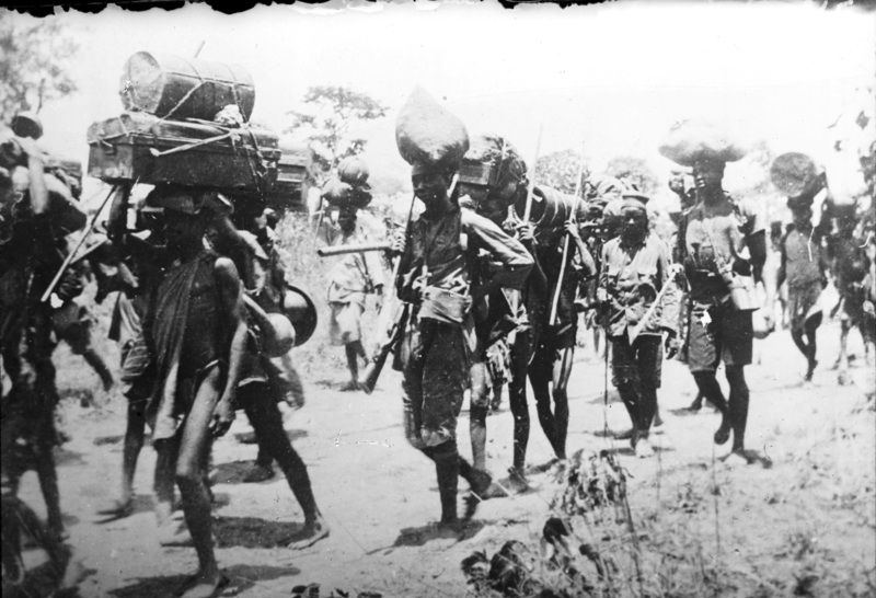 Image result for african porters in the first world war (pictures)