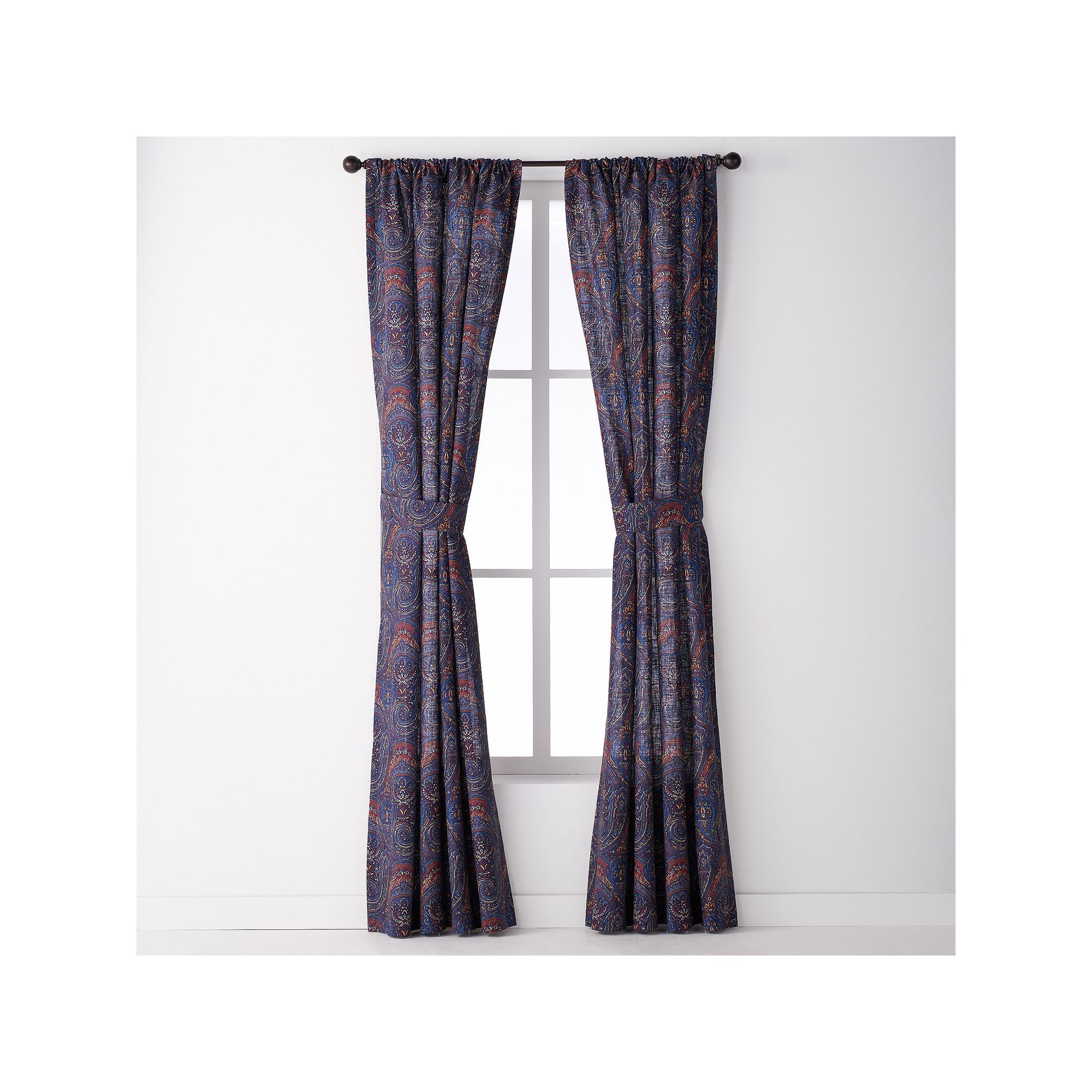 Chaps pack indigo isle curtains blue navy products