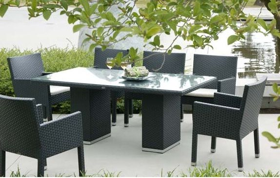 Ratana Casa Madrid Outdoor Patio Dining Set. To View More Pieces Visit Our  Website Www