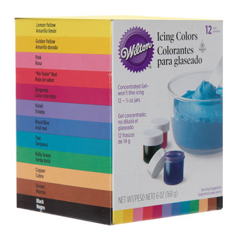 Wilton Icing Colors 8 Piece Set Hobby Lobby 781674 Icing Colors Wilton Icing Food Coloring Chart