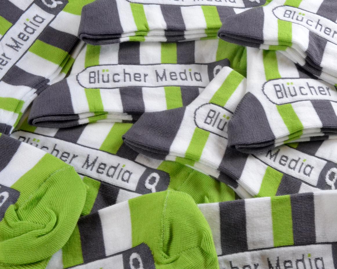 Blucher Media. Se mer her: http://danmark.shopwithsocks.com/sokker-med-logo.html