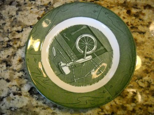 Colonial Homestead Vintage Cameo GOD Bless Our Home Bread Butter Dessert Plate | eBay