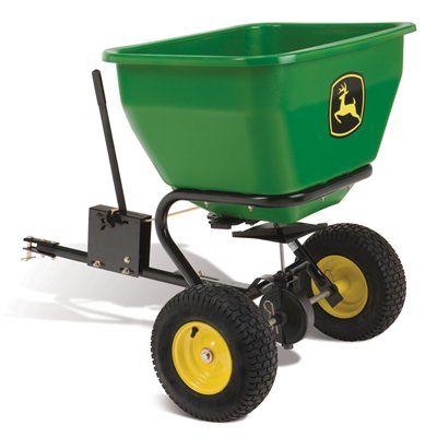 John Deere 175 Lbs Capacity Tow Behind Lawn Spreader