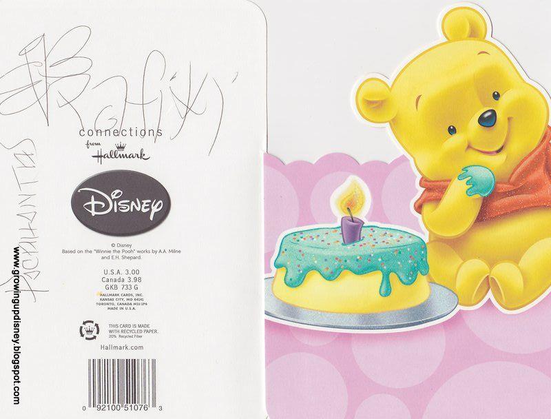 Disney Birthday Cards Birthday Greetings Disney Pinterest