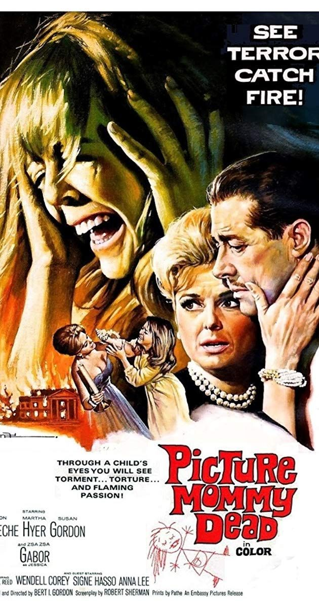 Picture Mommy Dead (1966) IMDb Old movie posters