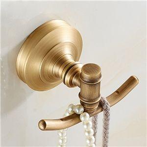 Eu Lager Handtuchhaken Doppelt Antik Messing Bad Accessoires Bathroom Accessories Bathroom Styling European Antiques
