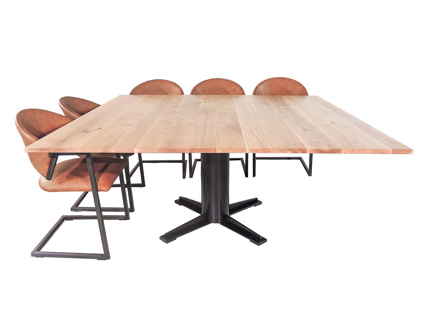 Vierkante Eettafel 12 Personen.Nevada Vierkante Eettafel Voor 8 Personen Woonkamer