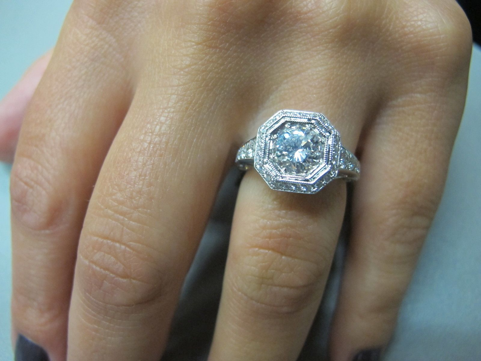 Definitely my dream ring Platinum diamond rings
