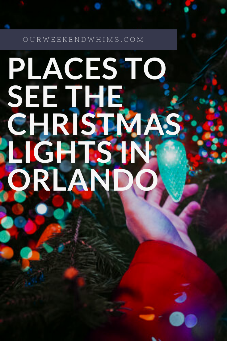 Christmas Lights In Orlando 2020 Where to See Christmas Lights Near Orlando in 2020 | Christmas