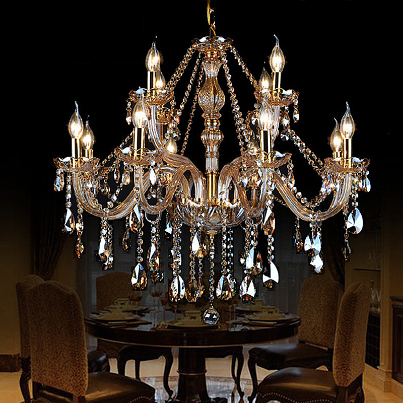 Luxury Crystal Chandelier European Ceiling Light Bedroom Living Room Hq 9014 With Images Pendant Light Styles Chandelier Pendant Lights Bedroom Ceiling Light