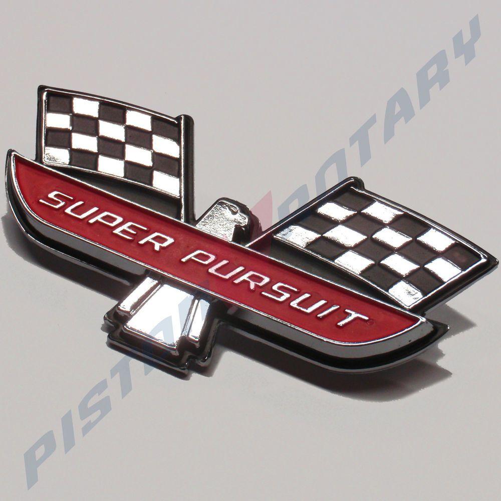 Super pursuit front guard badge new for ford fairmont xp xr xm xy falcon