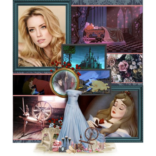 "Amber Heard as Sleeping Beauty ""Sleeping Beauty: The Curse Came True"" by anna-nemesis on Polyvore"