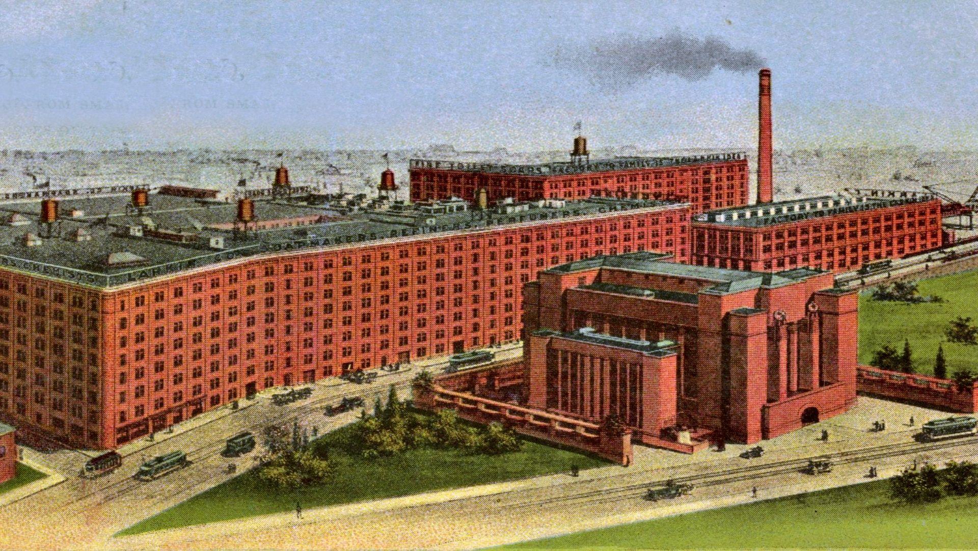 larkin company buffalo - Szukaj w Google | Frank Lloyd Wright ...
