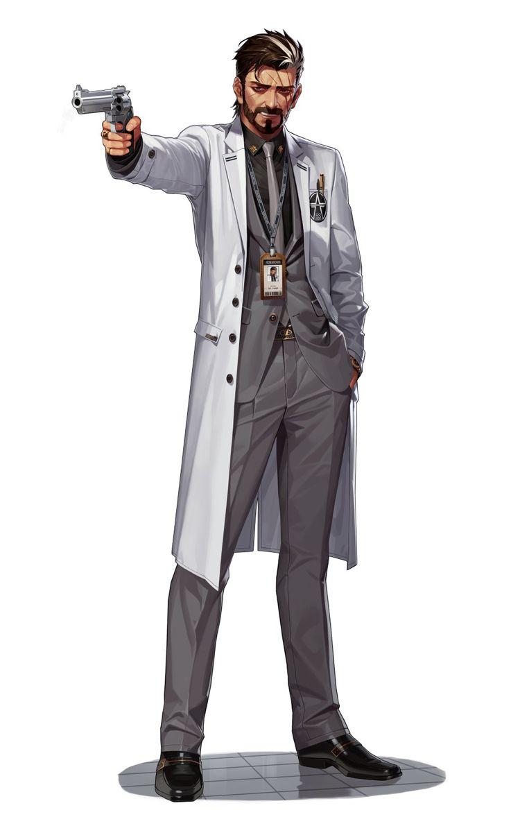 Null Mysterii Inderjeet Nirander Cyberpunk Character Character