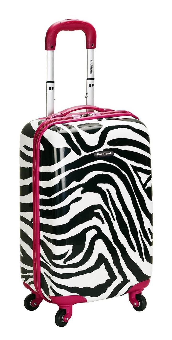 Zebra Suitcase Hard Case Mc Luggage