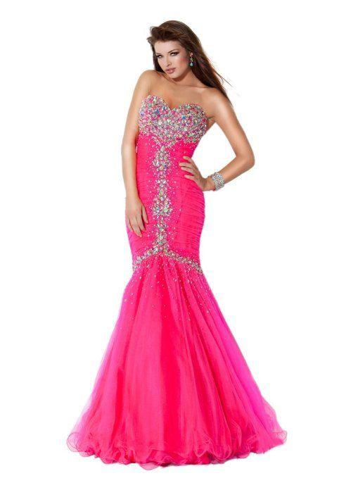 Jovani Prom Dress Hot Pink $220.00 | Dresses | Pinterest