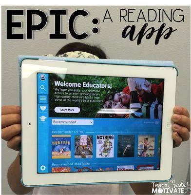 EPIC Audio books for kids, Teaching, Epic app