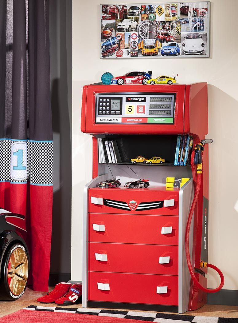 Best I Love This Cool Kids Gas Pump Drawer Chest Kids Dressers Boys Bedroom Furniture Boy Car Room 640 x 480