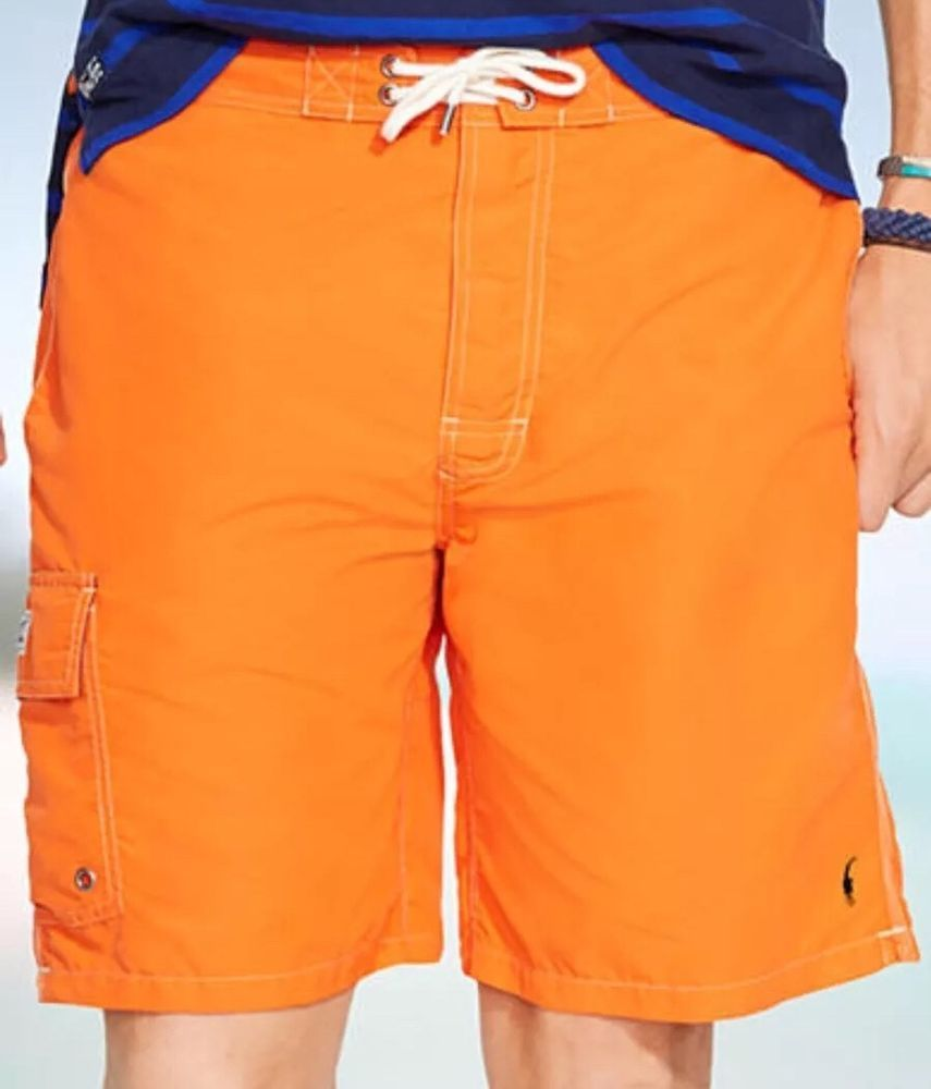 ef0a7f7f113ad Polo Ralph Lauren Kailua swim trunks 2XL Orange NWT | eBay Big & Tall, Swim