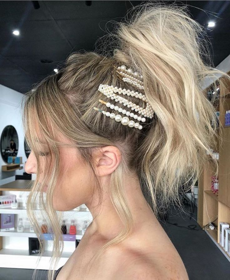 How To Wear Hair Clips 2019 How To Wear Snap Clips How To Wear Barrettes 2019 How To Use A Claw Clip With Long Hair Ponyta Clip Hairstyles Hair Styles Hair